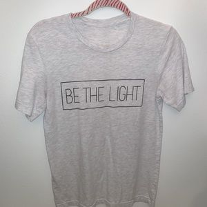 "Tops - ""BE THE LIGHT"" boutique shirt"